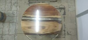Epoxy Resin Round Coffee Table Top 24inches Diameter 35mm thickness (TOP ONLY)