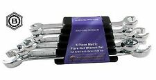 FLARE NUT BRAKE SPANNER WRENCH SET 5 PIECE BRITOOL HALLMARK