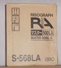 Riso S-568LA Master 500LA Rollen Risograph RA 4050 4200 4900 RC 4000 4500 5600 A