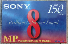 Sony P6-150MP Video 8 Videotape Videocasette 150 Minutes New Sealed