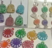 Mini Gumdrop, Candy  Christmas Tree Ornaments crafts, assorted sets. Old stock