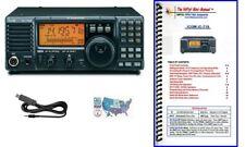 Icom IC-718 100W HF Radio w/ Nifty! Mini-Manual & RT Systems Prog/Control Cable