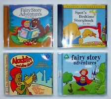 Collection 4 CD Audio Books - Fairy Story Adventures & Spot's Bedtime Storybook