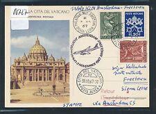 06727) KLM FF Amsterdam - Freetown Sierra Leone 3.11.67, GA ! ab Vatikan RR!