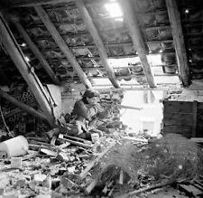 WWII B&W Photo Black Watch Sniper Holland Royal Highland Regiment  WW2 / 1102