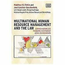 Multinational Human Resource Management and the Law: Common Workplace Problems i