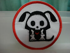Iron On Patch - Big Skull Dog
