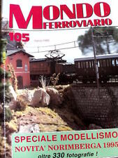 Mondo Ferroviario 105 1995 Trenini Conti - Speciale Modellismo Norimberga 1995