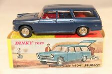 "Dinky Toys 525 Peugeot ""404"" commerciale very near mint in box all original"