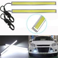 New Waterproof COB Car LED Strip Light for DRL Fog Light Driving White Lamp 12V!