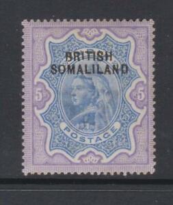 Br. Somaliland - SG 13 - m/m - 1903 - 5r - Q.V