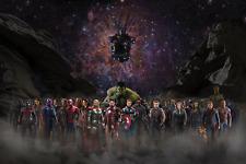 Marvel Avengers - Infinity War Superhero Movie Art Poster/Canvas Picture Prints