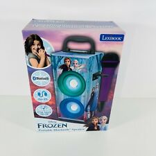 More details for lexibook disney frozen ii bluetooth speaker kids karaoke machine -  btp155fzz