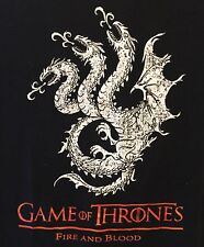 """T-Shirt LRG Game Of Thrones """"Fire And Blood"""" T-Shirt"""
