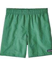NWTPATAGONIA Boys Baggies Swim Shorts/Trunks Nettle Green