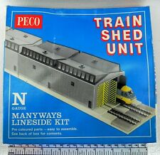 Peco NB-80 train shed unit - lineside kit - n gauge
