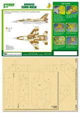 J's Work Airbrush Camo-Mask for 1/48 IDF F-16I Camouflage Scheme