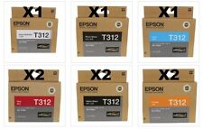 Epson T312 9 x Genuine Epson Ink cartridges for SC-P405