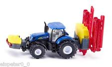 SIKU 1799 Holland T7070 Tractor With Kverneland Crop Sprayer 1 87 Scale