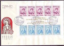 Echte Briefmarken aus Europa mit Ersttagsbrief für Kunst