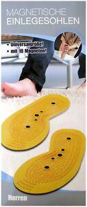 Massagesohlen Solette Con Magnete & Cupola per Massaggi