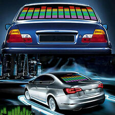 Colorful Car Music Rhythm Sound Active Equalizer LED Light Lamp Sticker Precious