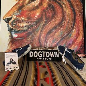 🔥Rare Vintage Vans Authentic Dogtown Z-boys (Deadstock) 2001