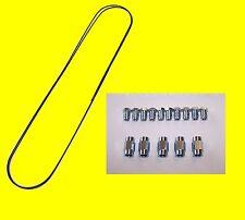 10 Meter Bremsleitung 4,75 mm + 10 Überwurf Muttern Verschraubung + 5 Verbinder