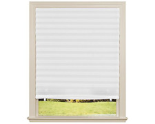 Window Blinds White Blackout Shades Light Filter Pleated Curtains Paper Curtain
