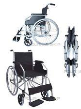 MOVIS Silla de ruedas manual plegable y autopropulsable para anciano minusválido