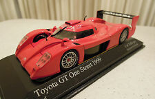 Minichamps Japan Toyota GT One Street Car 1999 1/43, In Box Ships from USA
