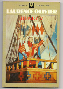Laurence Olivier's film of HENRY V • CLASSIC FILM SCRIPTS • 1984 TP Edition