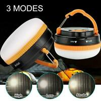 LED Camping Gazebo Light Tent Lantern Super Bright Night Lamp Outdoor Battery