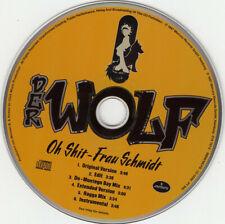 Der Wolf - Oh Shit - Frau Schmidt ° Maxi-Single-CD von 1997 °