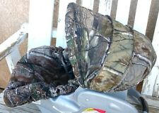 Realtree camo infant car seat cover and hood cover