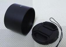 37 mm Metal Camera Lens Hood + 46 mm Cap for Tele Lens 37TC46
