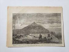 Kennesaw Mountain General Sherman Advance Little 1864 Civil War Sketch Print
