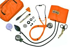 Blood Pressure Kit Orange bag with Stethoscope and More!