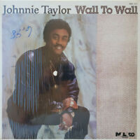 Johnnie Taylor - Wall To Wall (Vinyl LP - 1985 - US - Original)