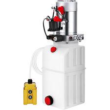 6L Hydraulikaggregat Hydraulik Pumpe 12 V Volt Reservoir 2200W Kipperpumpe