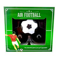 Air Football Tabletop Portable Party Travel Game Goals Puck Paddles New