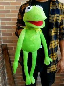 """Kids Birthday Xmas Gift 22"""" Kermit the Frog Hand Puppet Soft Plush Doll Toy UK"""