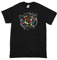 Rubix's Cube EQUATION T-Shirt Mens Funny T-Shirts