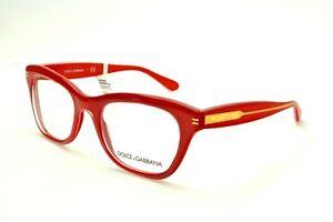 Brand New Dolce & Gabbana Women Eyeglasses DG 3177 2775 Rx Italy Authentic Frame