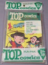 TOP COMICS FUN-PAK (5 Sealed Books) Jetsons 1, Porky Pig 2, KK Publications 1967