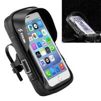 5.8-inch Waterproof Bicycle Motorcycle Holder Bag Bike GPS Handlebar Mount Case
