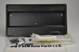 2000 2005 Saturn L Series Front License Plate Mounting Bracket OEM New