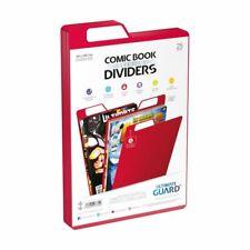 Ultimate Guard Premium Comic Book Dividers Red (25) - Ultimate Guard - UGD020025