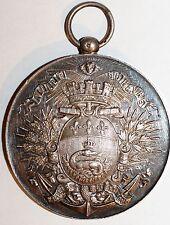 Medaille Concours Gymnastique Havre 1895 en argent massif