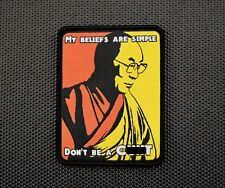 Dalai Lama Wisdom Don't Be A C**t Woven Morale Patch See You Next Tuesday